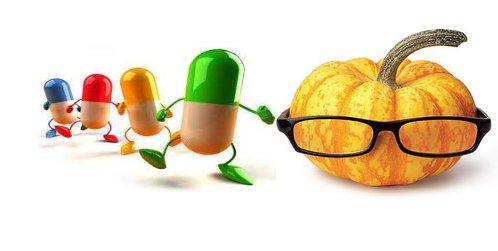 витамины в тыкве