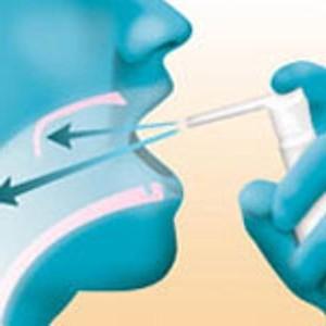 Спрей с антибиотиком для горла