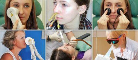 Физиотерапия при гайморите у взрослых