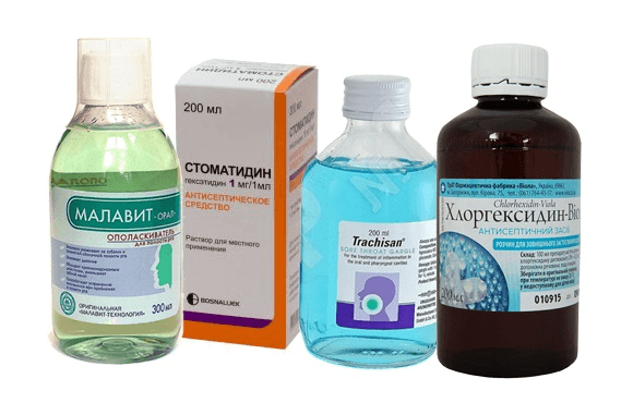 Антисептики для лечения болезней десен