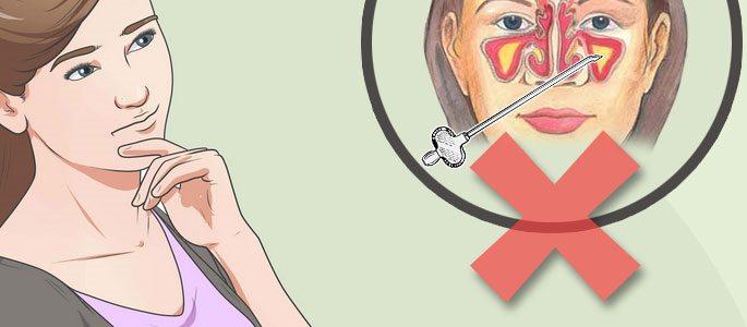 Как лечить гайморит в домашних условиях, быстро у взрослого, без прокола