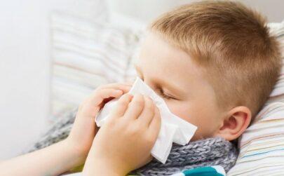 Осложнение гриппа у детей